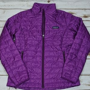 Patagonia Nano Puff Jacket Women's Medium Purple